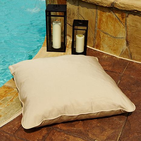 Sunbrella Corded Floor Pillow