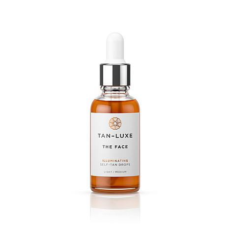 Tan-Luxe The Face Self Tan Serum - Light/Medium