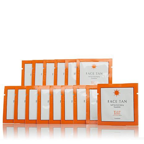 TanTowel® Face Tan Self-Tanning Towelette 15-pack