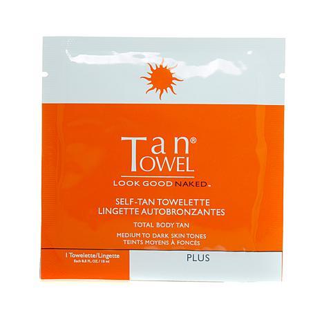 TanTowel® Full-Body Plus Towelette