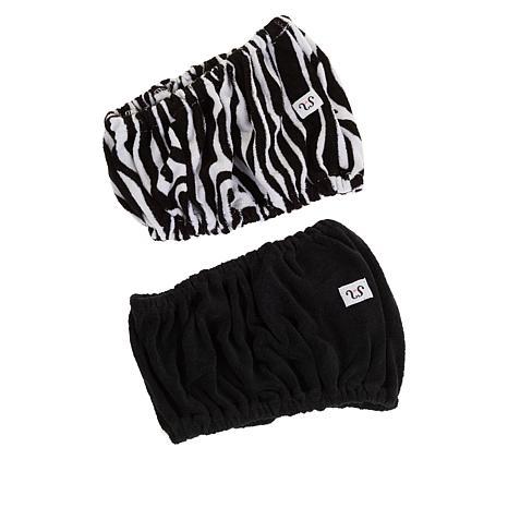 Tassi 2-pack Hair Holder - Black/Zebra