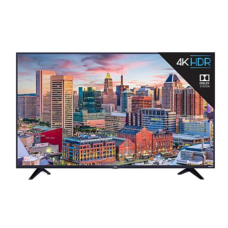 "TCL 55"" 5-Series 4K UHD LED Dolby Vision HDR Roku Smart TV Bundle"