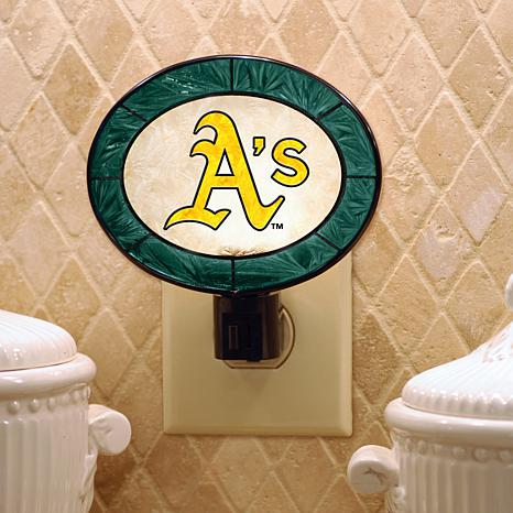 Team Glass Nightlight - Oakland Athletics