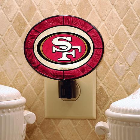 Team Glass Nightlight - San Francisco 49ers