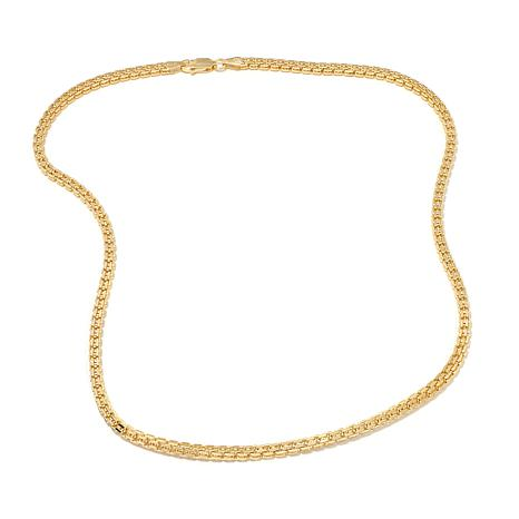"Technibond® Box-Chain 18"" Necklace"