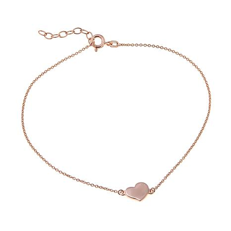 "Technibond® Heart 9"" Anklet"