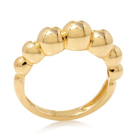Technibond® High-Polish Graduated Bead Ring