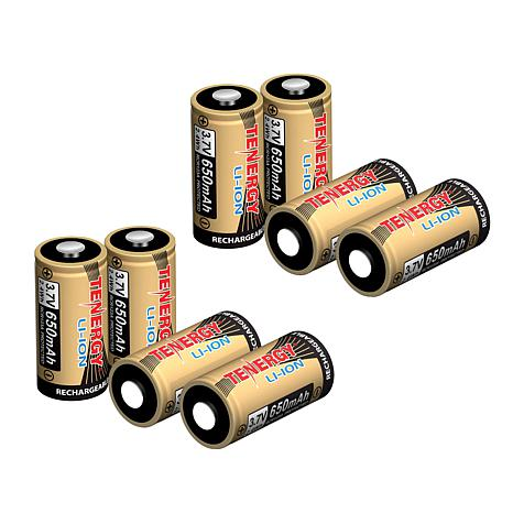 Tenergy 8-pack Rechargeable Batteries for Arlo Security Cameras