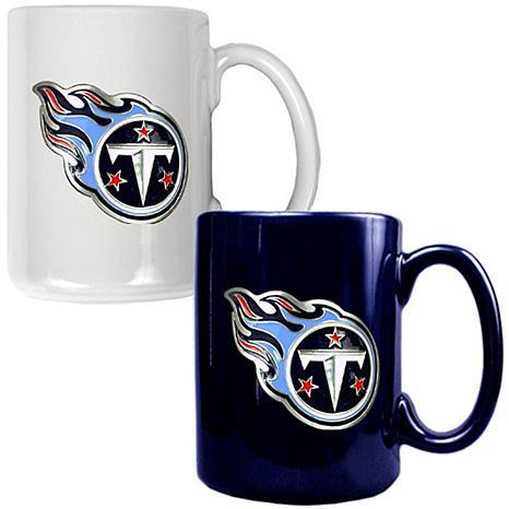 Tennessee Titans 2pc Coffee Mug Set