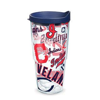 Tervis MLB All-Over 24 oz. Tumbler with Lid - Cleveland Indians