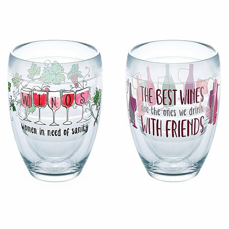 Tervis Winos Wine with Friends 2-pack 9 oz. Tumbler