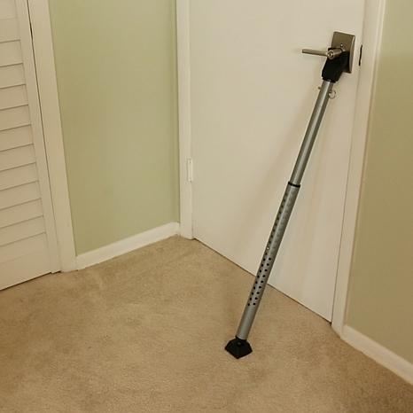 Door security floor bar Master Lock Burthickeyclub The Door And Window Security Bar 8573025 Hsn