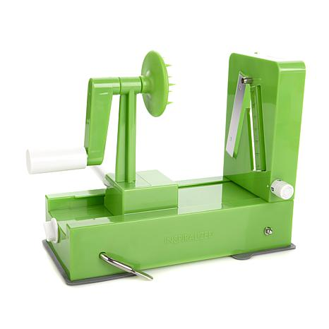 The Inspiralizer with 4 Noodle Shapes and Veggie Slicer