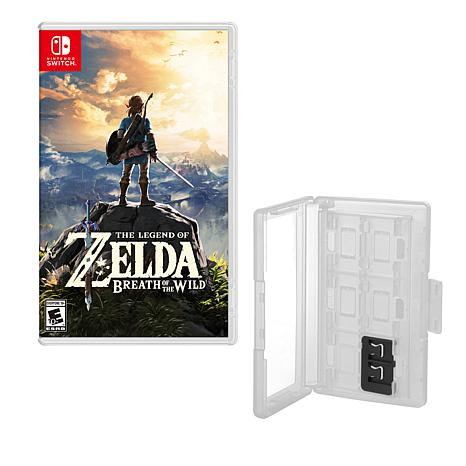"""""""The Legend of Zelda"""" Game for Nintendo Switch with Game Caddy"""