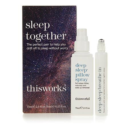 This Works Sleep Together Deep Sleep Spray/Roll-On Duo