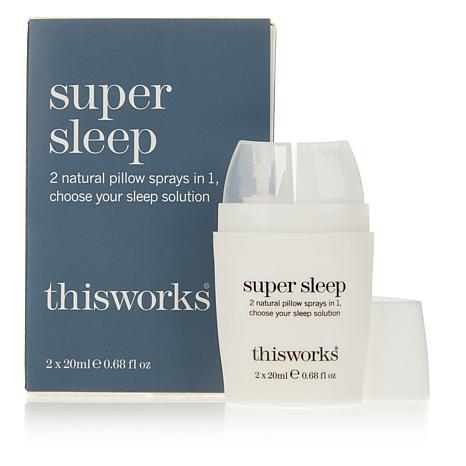 This Works Super Sleep Dual-Chamber Sleep Spray