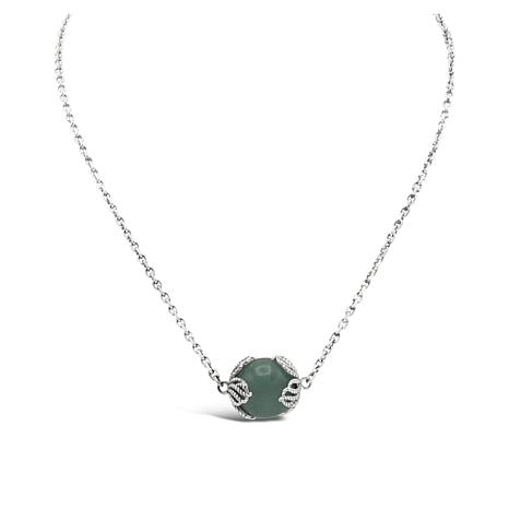 Tiffany Kay Studio Sterling Silver Aventurine Necklace