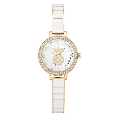Tommy Bahama Women's Golden Pineapple Watch