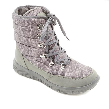 Tony Little Cheeks® Fit Body Quilted Sneaker Boot with Gel Energy Pads