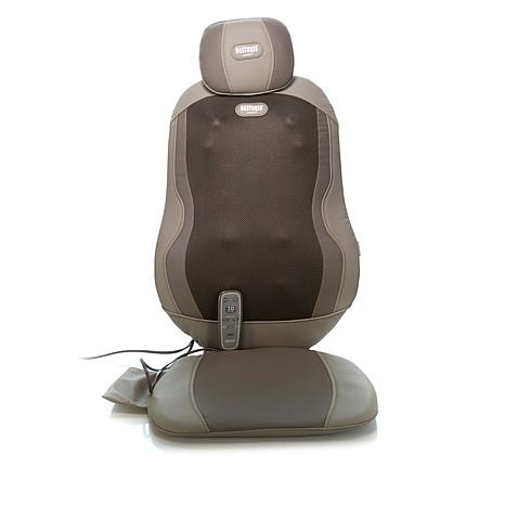 Tony Little  Triple Shiatsu 12-Node Massage Cushion with Soothing Heat