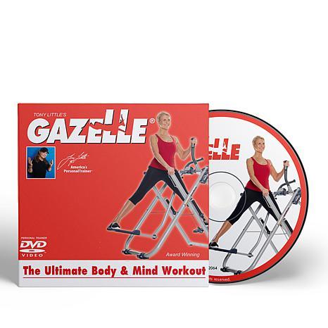 Tony Little Ultimate Body and Mind Gazelle Workout DVD