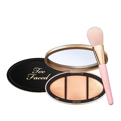 Too Faced Born This Way Turn Up the Light Palette with Brush