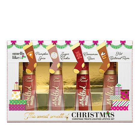 Too Faced Melted Matte Christmas  Lipstick Set