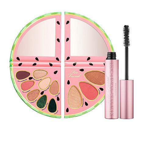 Too Faced Tutti Frutti Watermelon Slice Palette with Mascara
