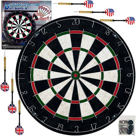 Trademark Games Pro Style Bristle Dart Board Set