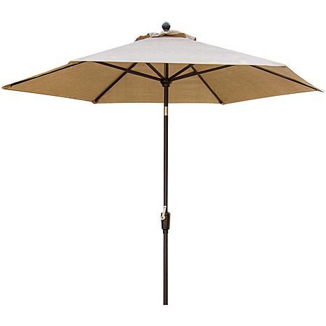 Traditions 9' Tilt Umbrella with Crank Lever