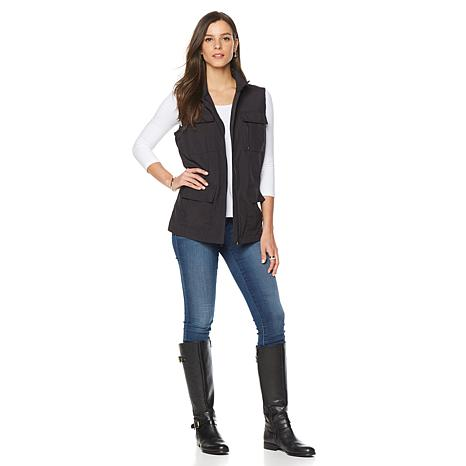 ... TravelSmith Women's 12-Pocket Travel Vest - Missy ... - TravelSmith Women's 12-Pocket Travel Vest - Missy - 8127391 HSN