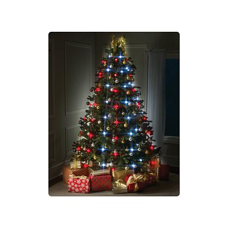 String Christmas Tree Lights Vertically : Tree Dazzler Deluxe Christmas Tree Lights