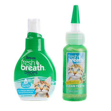 Tropiclean Fresh Breath-Clean Teeth for Cats or Dogs