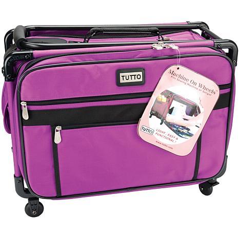 TUTTO Machine On Wheels Case - Purple