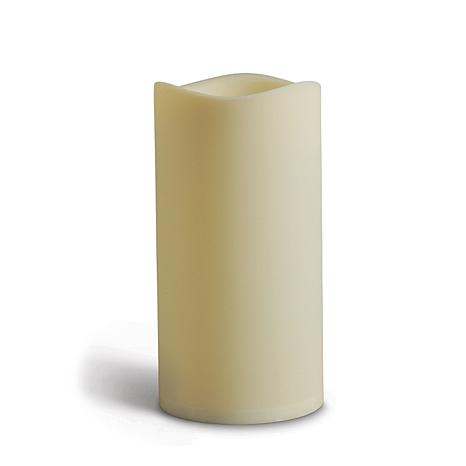 "UnMatched LED 9""H Outdoor Pillar Candle"