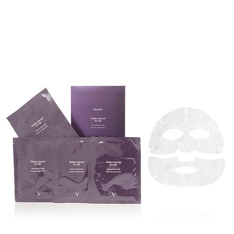 vbeauté Hidden Agenda™ Platinum Foil Sheet Mask 4-pack