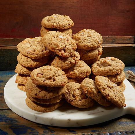 Velvet Rope 4pk Salted Caramel Apple Oatmeal Cookies