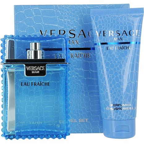 Versace Man Eau Fraiche Set for Men 3.0 oz.