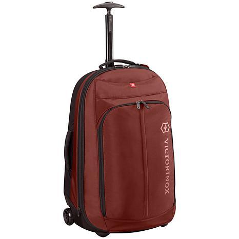 "Victorinox Seefeld 25"" Expandable Suitcase - Maroon"