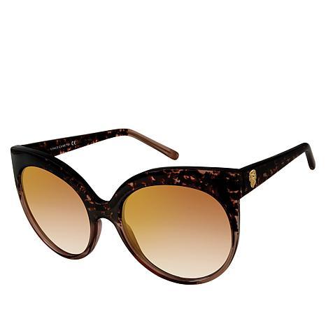 Vince Camuto Oversized Plastic Round Sunglasses