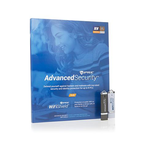 VIPRE™ Advanced Security & Wi-Fi Shield for 8 Devices