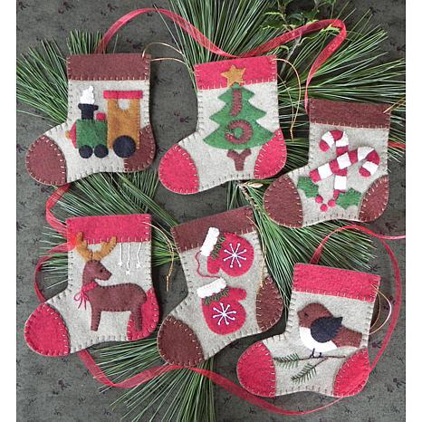 Warm Feet Ornament Kit 6-pack