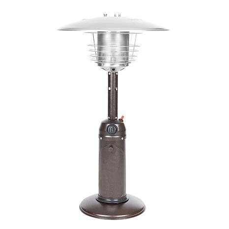 Well Traveled Living Table Top Patio Heater - Bronze