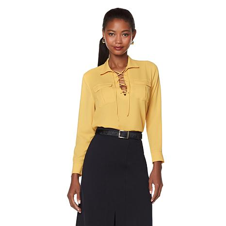 Wendy Williams Crepe Blouse
