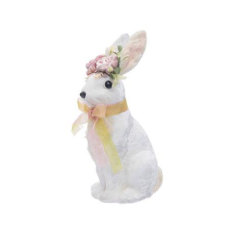 White Velvet Rabbit Small Hard Figure