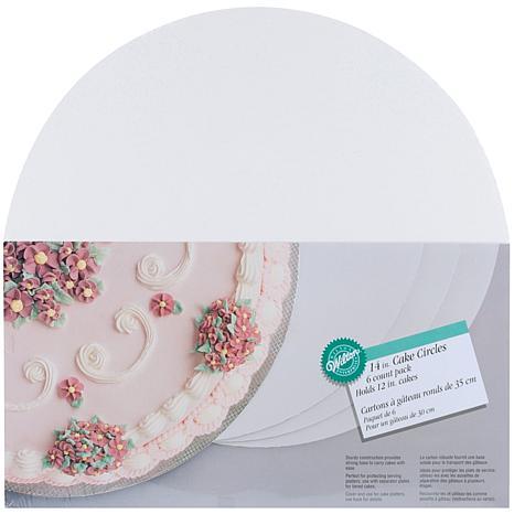 """Wilton 14"""" Cake Circles - 6-pack"""