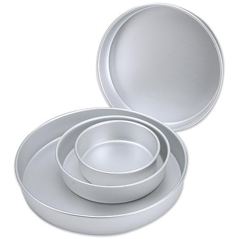 Performance Cake Pan Set 6 Quot 8 Quot 10 Quot And 12 Quot Round