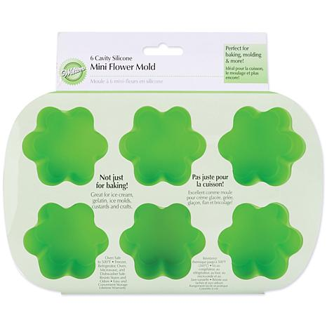Wilton Mini Silicone Mold - 6-Cavity Flower