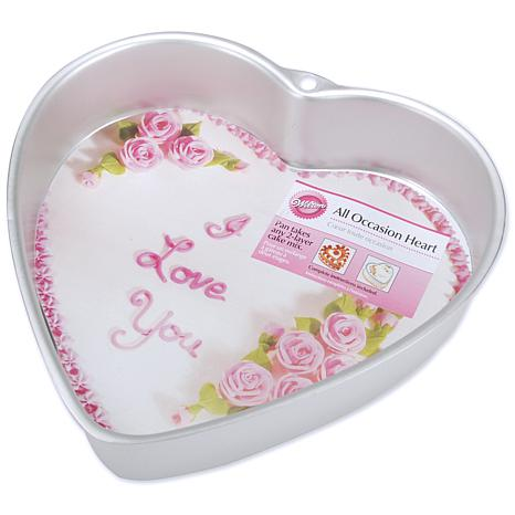 Wilton Novelty Cake Pan - All Occasion Heart