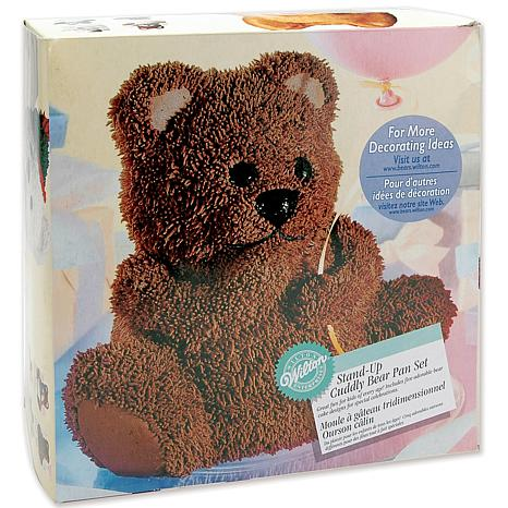 Wilton Stand Up Bear Cake